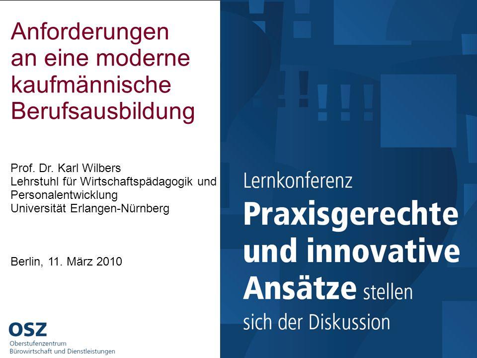 Lehrstuhl für Wirtschaftspädagogik und Personalentwicklung Prof. Dr. Karl Wilbers - www.wirtschaftspaedagogik.de Formatvorlage des Untertitelmasters d