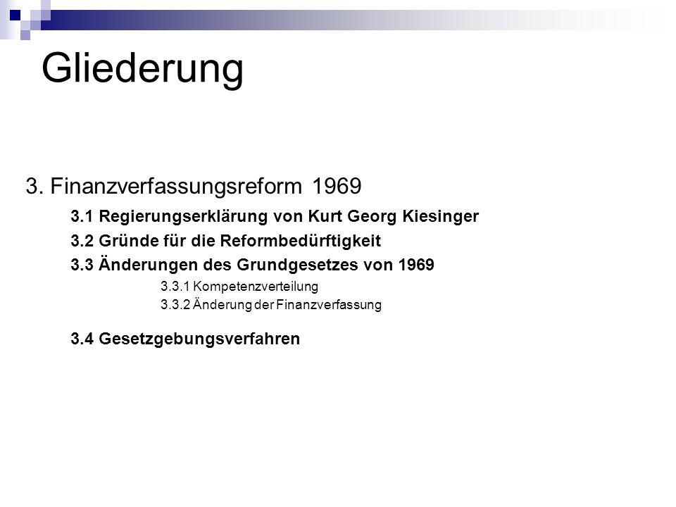1.6 Abschlussbilanz 1. Finanzpolitik der großen Koalition 1966-1969