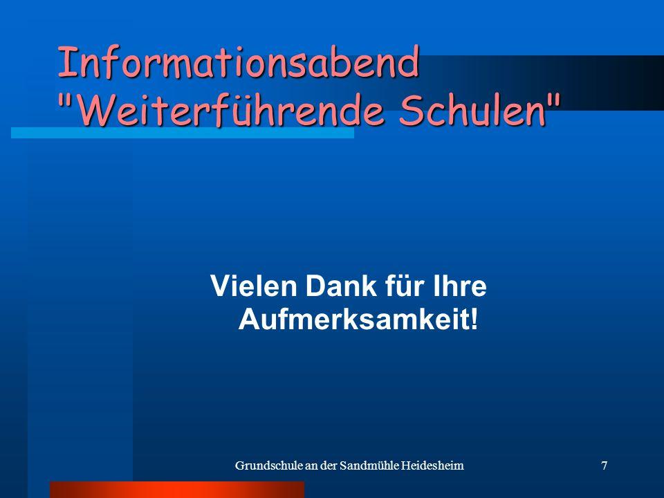 7 Informationsabend