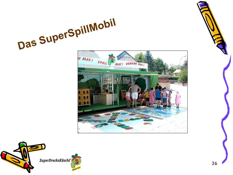 36 Das SuperSpillMobil
