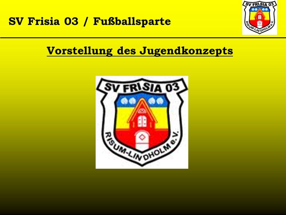 SV Frisia 03 / Fußballsparte Vorstellung des Jugendkonzepts