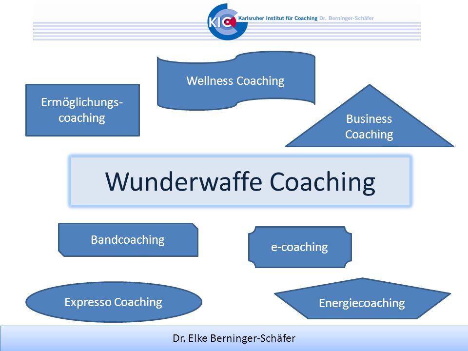 Dr. Elke Berninger-Schäfer Ermöglichungs- coaching Business Coaching Expresso Coaching Bandcoaching Energiecoaching e-coaching Wellness Coaching Wunde
