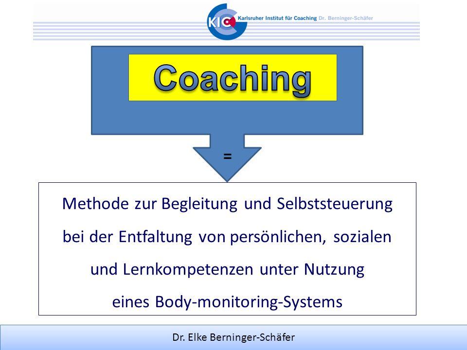 Dr. Elke Berninger-Schäfer Methode zur Begleitung und Selbststeuerung bei der Entfaltung von persönlichen, sozialen und Lernkompetenzen unter Nutzung
