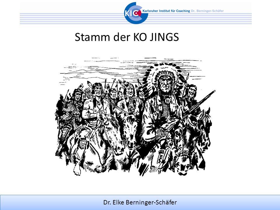 Dr. Elke Berninger-Schäfer Stamm der KO JINGS