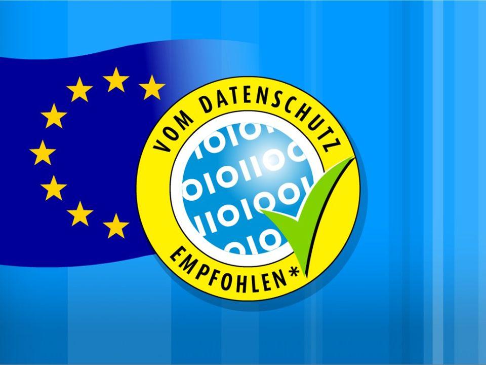 Datenschutz-Gütesiegel und EU Datenschutz durch Technik Datenschutz durch Technik 1970 Datenschutz durch Technik 1981 Privacy Technology (D.