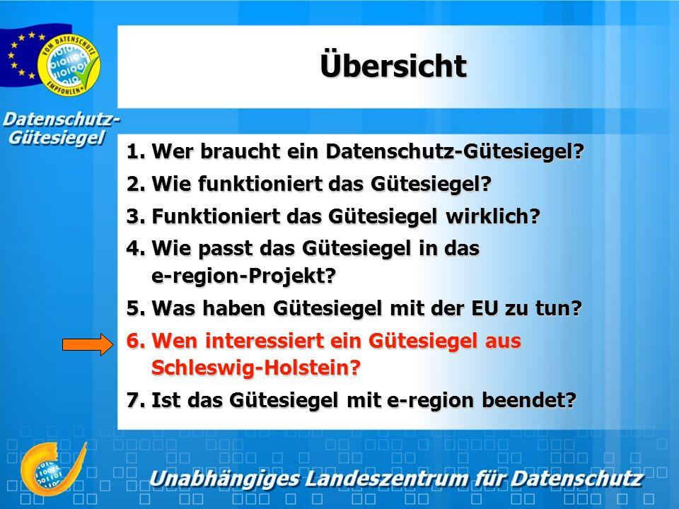 Datenschutz-Gütesiegel international vorgestellt (2002-2003): März 2002&2003, Hannover 18.-19.