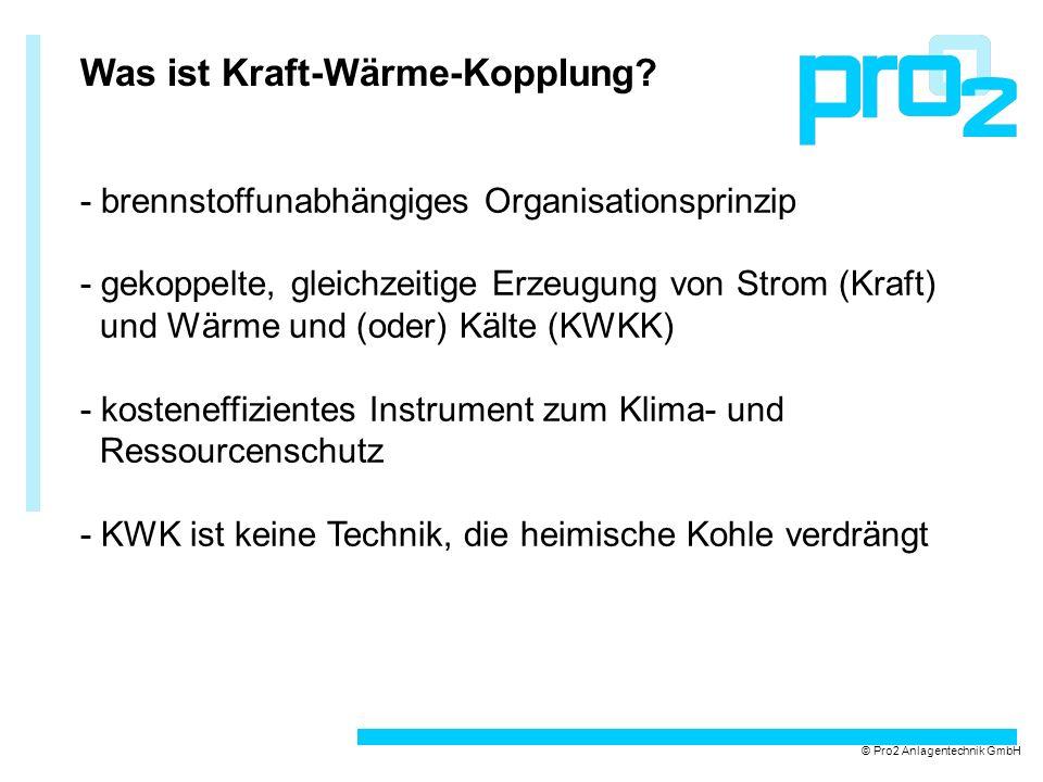 Energieflüsse nach ASUE © Pro2 Anlagentechnik GmbH