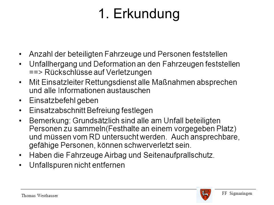 FF Sigmaringen Thomas Westhauser 1.
