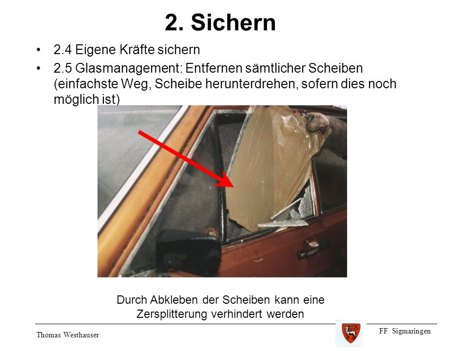 FF Sigmaringen Thomas Westhauser 2.