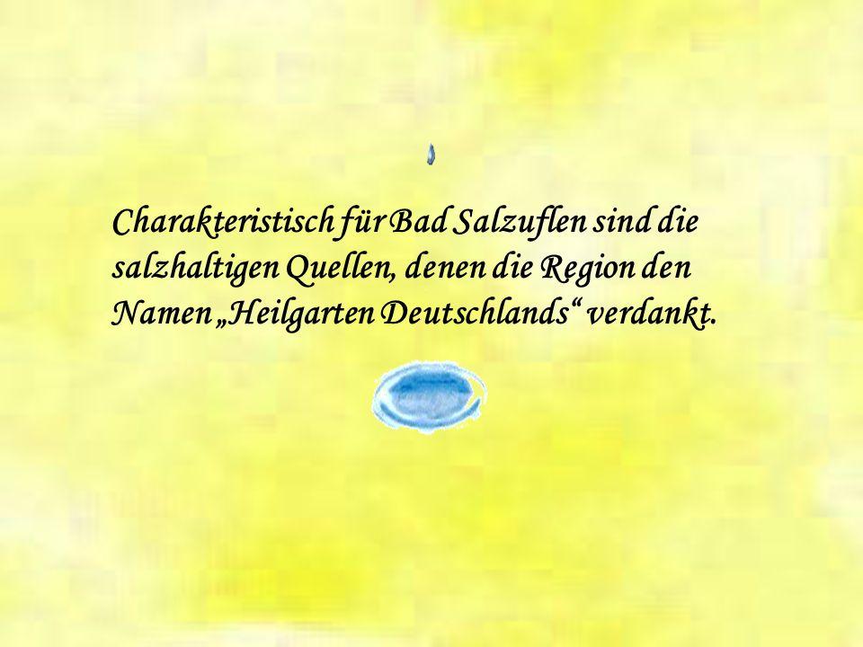 Zur Stadt Bad Salzuflen gehören folgende Ortsteile Grastrup-Hölsen Holzhausen Lockhausen Retzen Schötmar Wülfer-Bexten Papenhausen Wüsten Werl-Aspe Bi