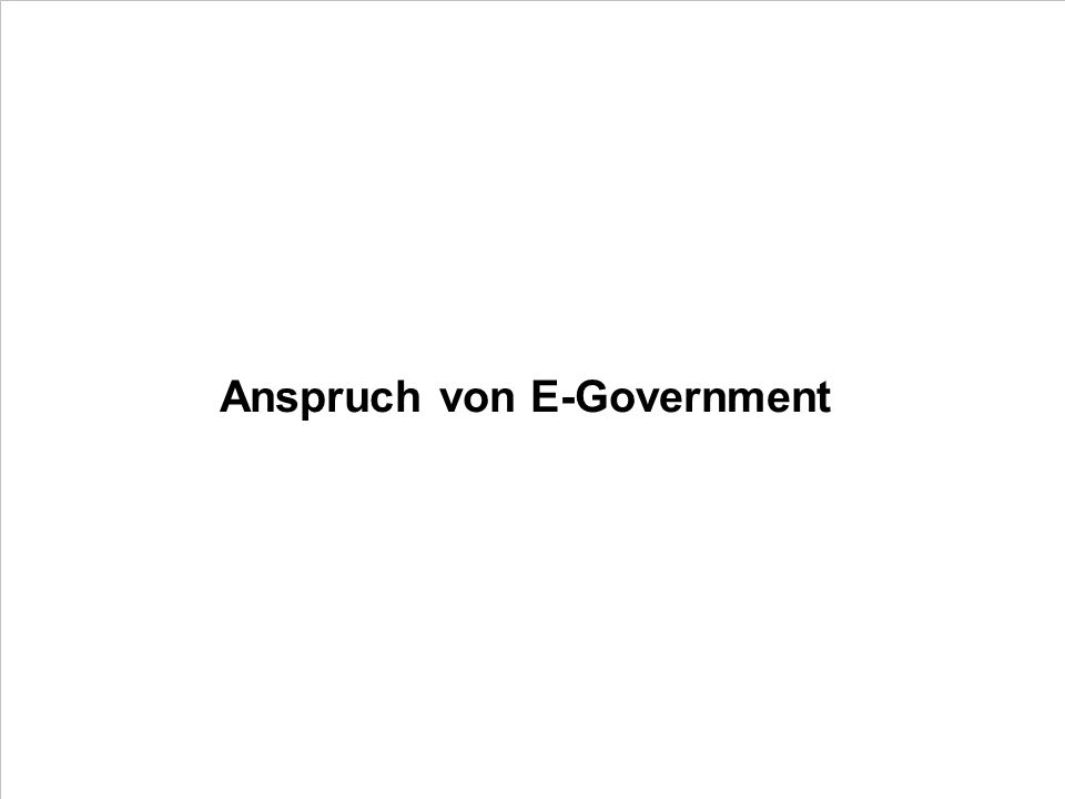 47 PDV Keynote E-Government Dr.Ulrich Kampffmeyer PROJECT CONSULT Unternehmensberatung Dr.