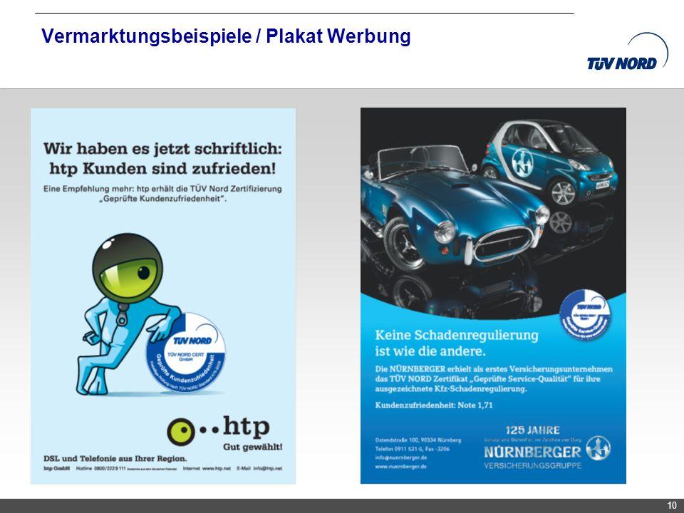 TNC/Servicequalität/Brandmaier 10 Vermarktungsbeispiele / Plakat Werbung