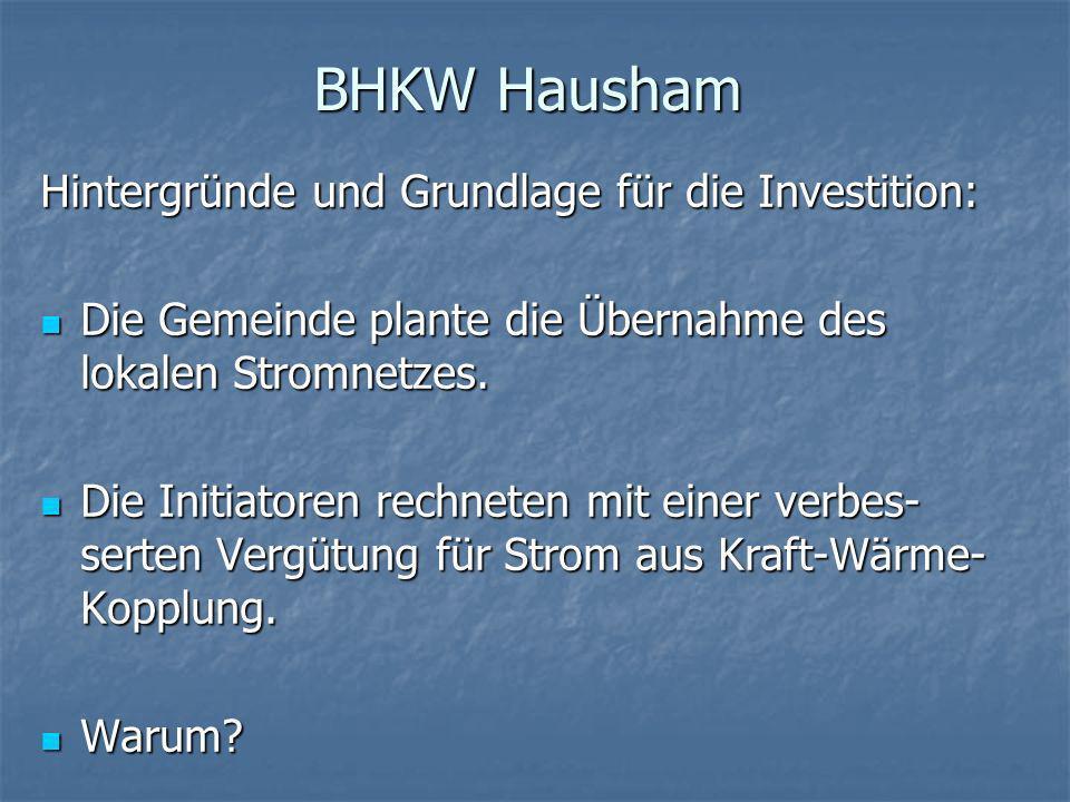 BHKW Hausham In der Bundesrepublik existiert ein System der Energieverschwendung.