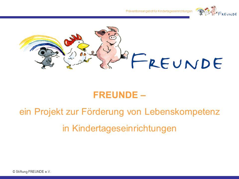 Präventionsangebot für Kindertageseinrichtungen © Stiftung FREUNDE e.V.