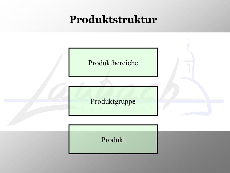 Produktbereiche Produktgruppe Produkt Produktstruktur