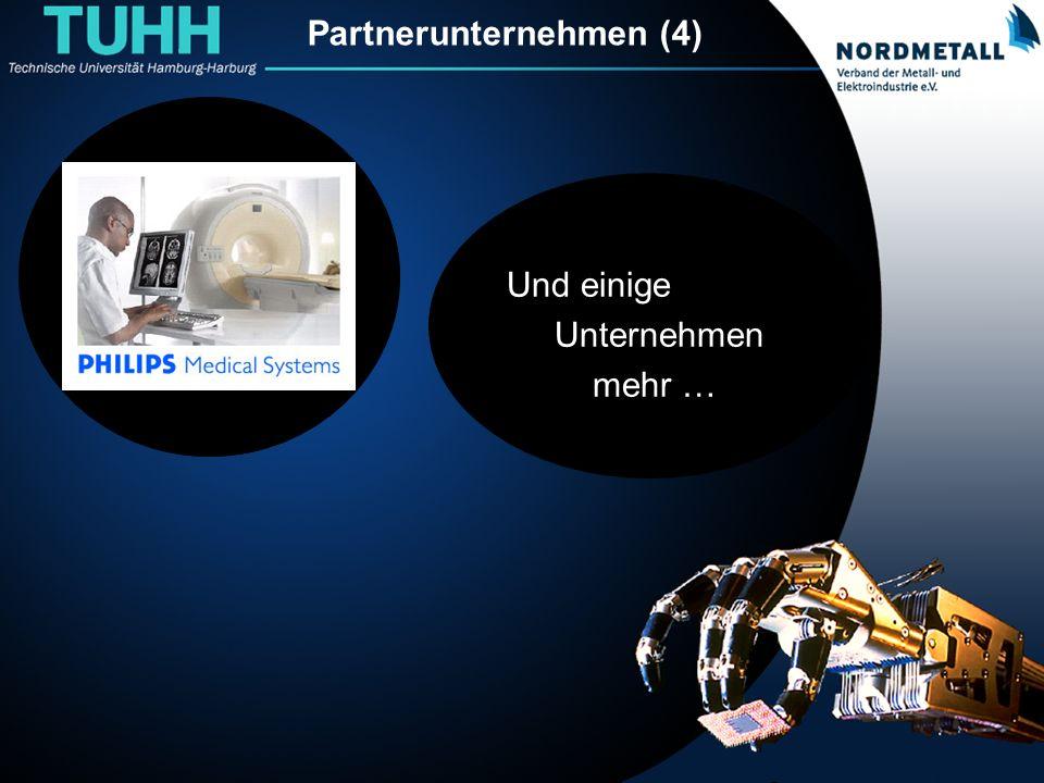 Partnerunternehmen (4) Und einige Unternehmen mehr …