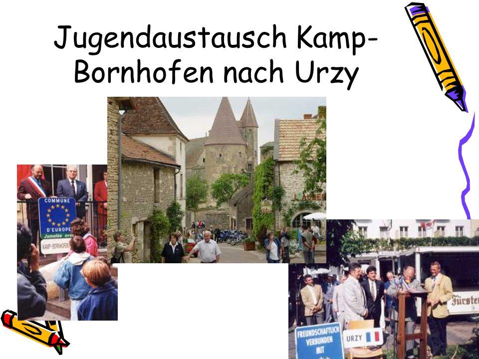 Jugendaustausch Kamp- Bornhofen nach Urzy
