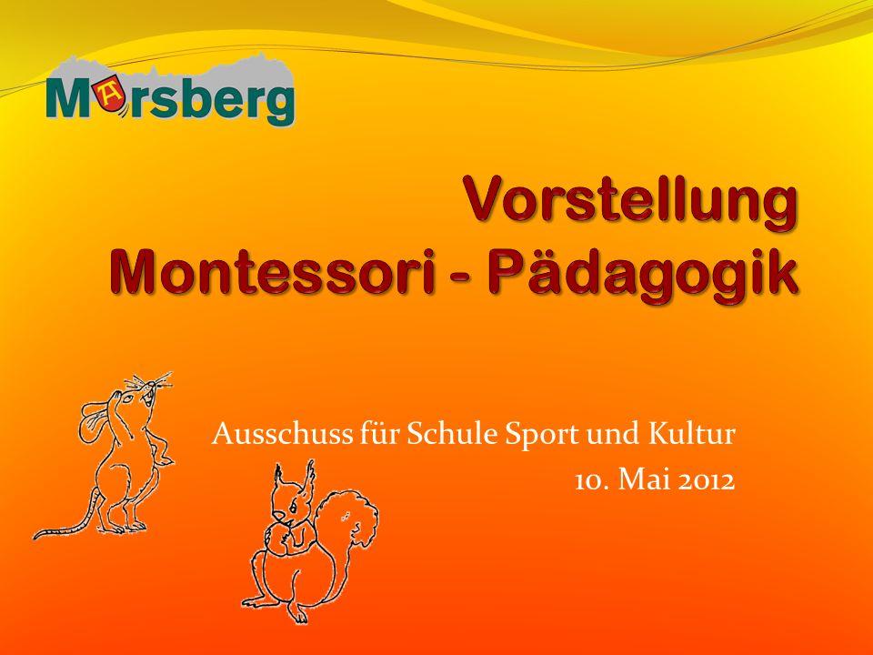 Ausschuss für Schule Sport und Kultur 10. Mai 2012