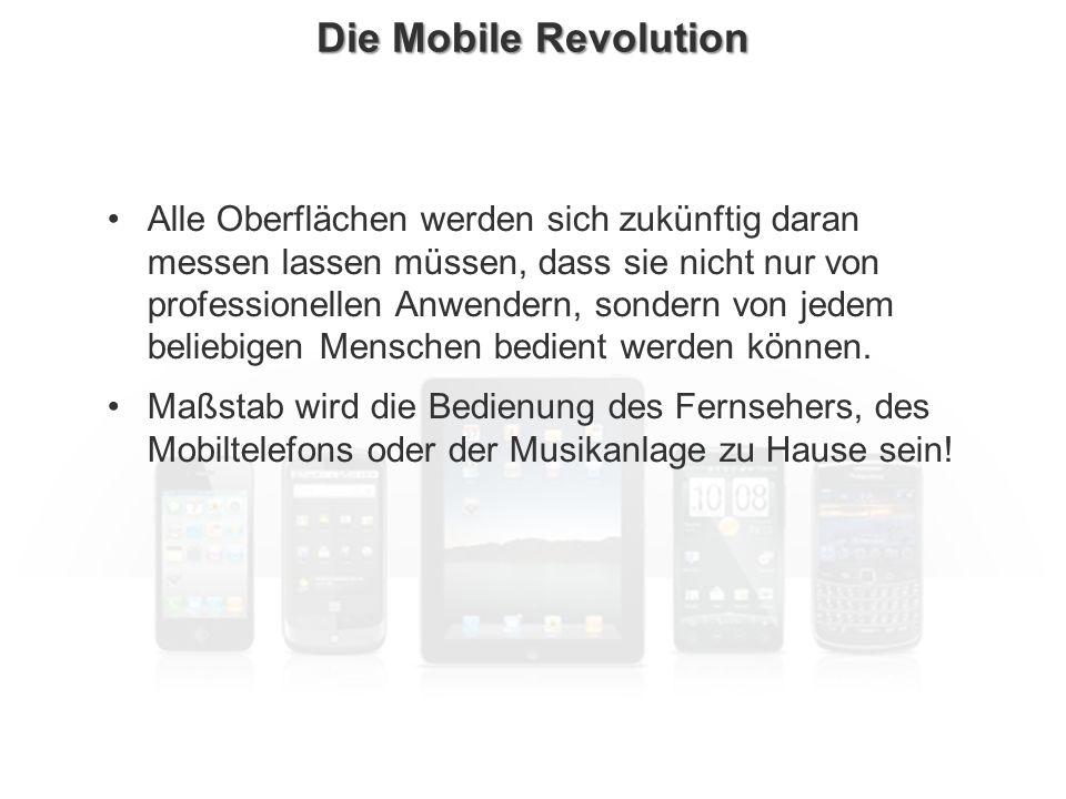 ECM Neue HorizonteIIR Wien 03.10.2011Dr. Ulrich KampffmeyerIIR_ECM_Kff_20111003_Show 25 Die Mobile Revolution Alle Oberflächen werden sich zukünftig d