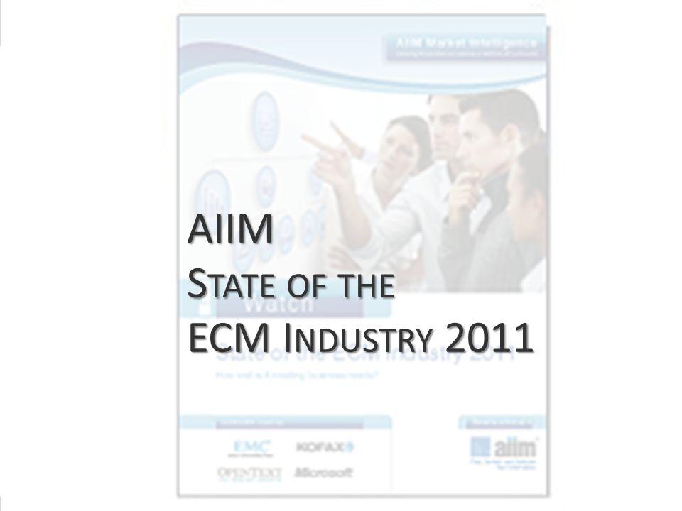 >Titel<>Veranstaltung<>Referent<>Datei< 48 AIIM S TATE OF THE ECM I NDUSTRY 2011