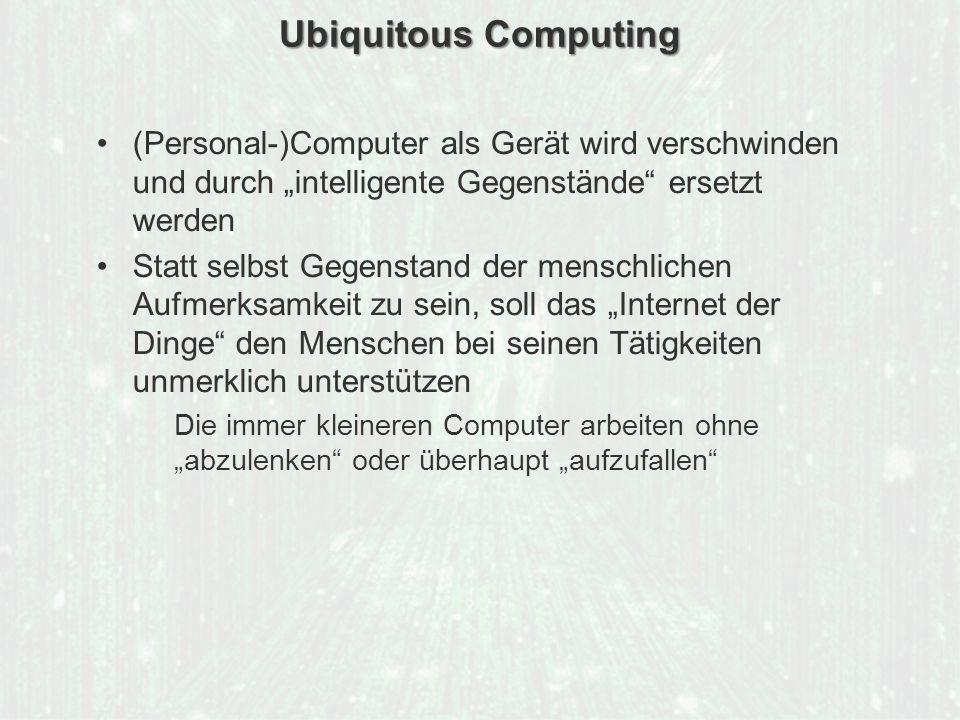 ECM Neue HorizonteIIR Wien 03.10.2011Dr. Ulrich KampffmeyerIIR_ECM_Kff_20111003_Show 78 Ubiquitous Computing (Personal-)Computer als Gerät wird versch