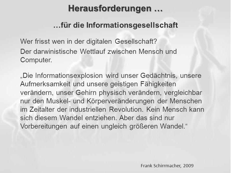 ECM Neue HorizonteIIR Wien 03.10.2011Dr. Ulrich KampffmeyerIIR_ECM_Kff_20111003_Show 83 Herausforderungen … Wer frisst wen in der digitalen Gesellscha