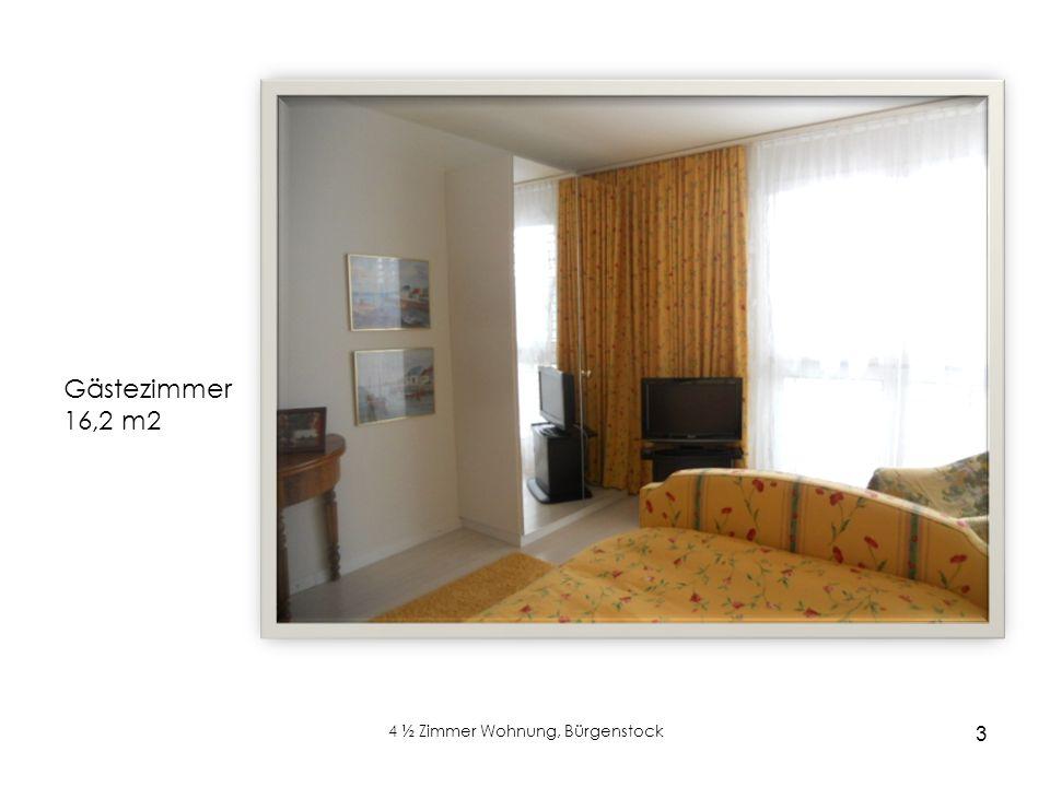 3 4 ½ Zimmer Wohnung, Bürgenstock Cheminée Gästezimmer 16,2 m2