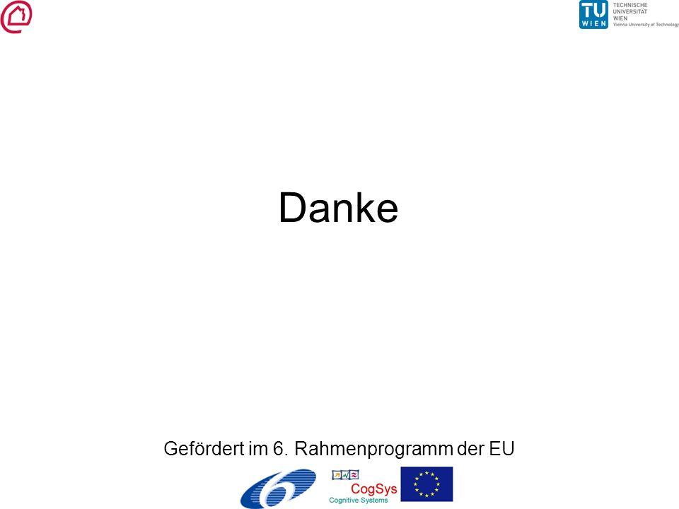 Danke Gefördert im 6. Rahmenprogramm der EU