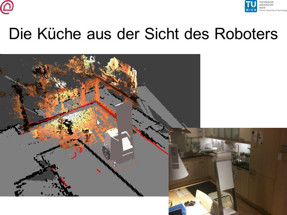 Die Küche aus der Sicht des Roboters
