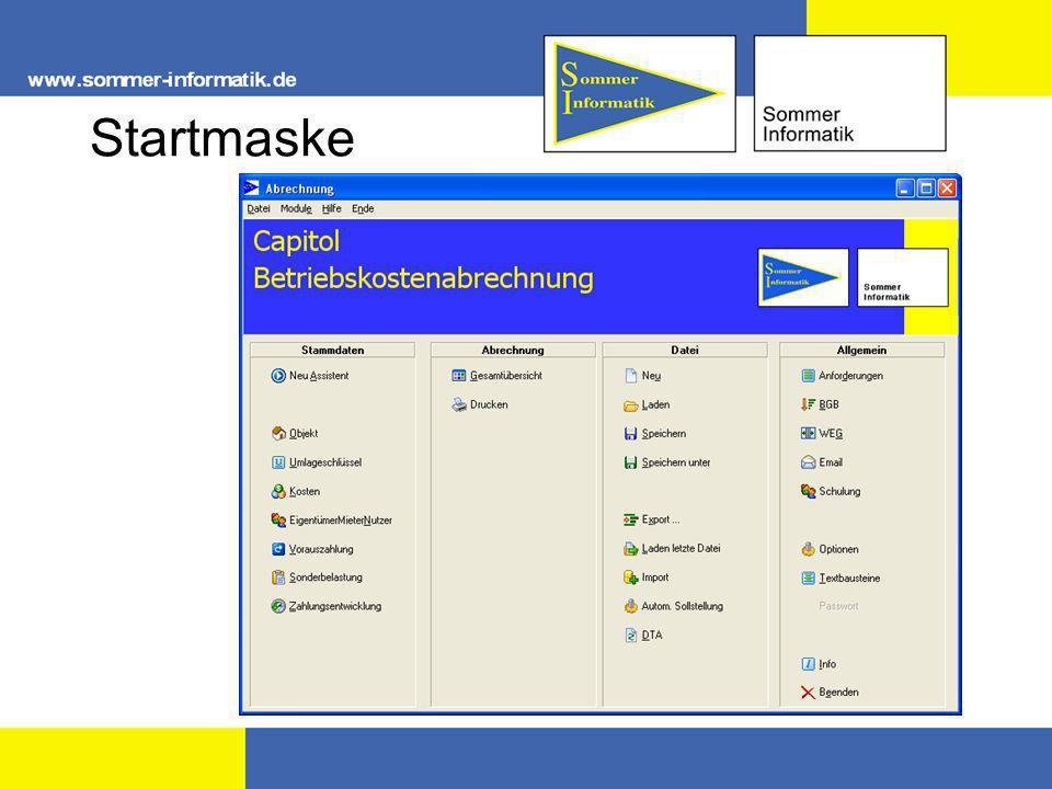 Startmaske