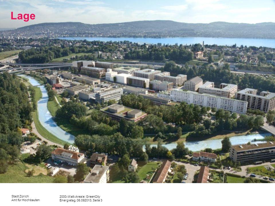 2000-Watt-Areale: GreenCity Energietag, 06.092013, Seite 3 Stadt Zürich Amt für Hochbauten Lage