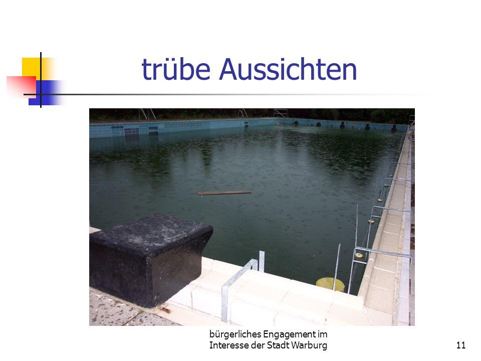 bürgerliches Engagement im Interesse der Stadt Warburg11 trübe Aussichten