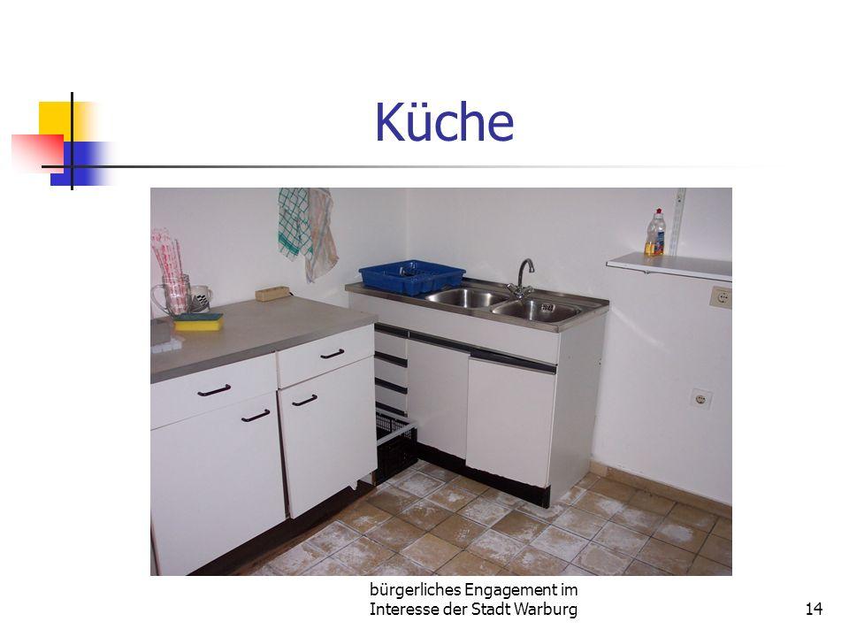 bürgerliches Engagement im Interesse der Stadt Warburg14 Küche