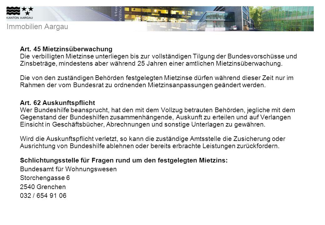 Immobilien Aargau Art.