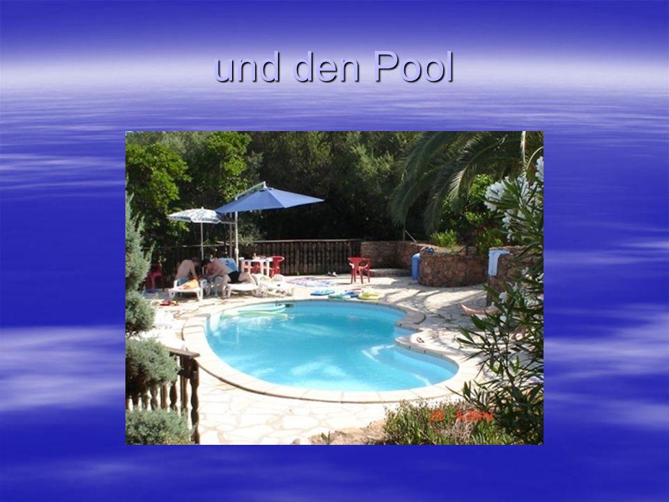 und den Pool