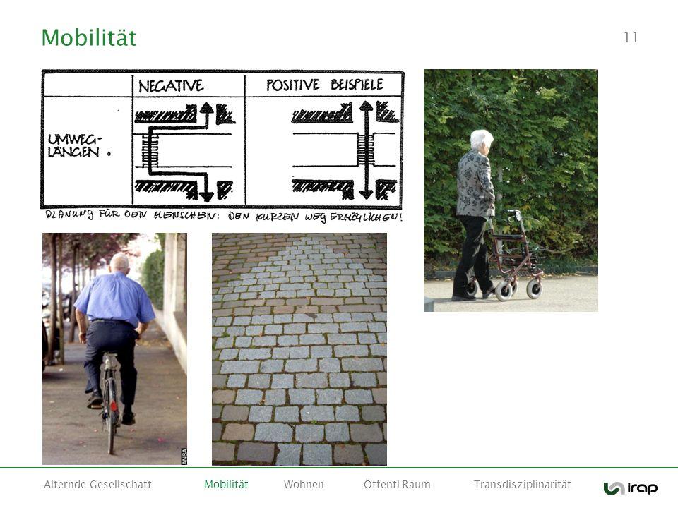 11 Mobilität Alternde GesellschaftMobilitätWohnenÖffentl Raum Transdisziplinarität