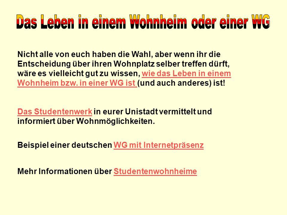 Das Auslandsamt in der jeweiligen Unistadt oder euer Programm bietet einen Orientierungskurs an, damit ihr euch an das neue Leben in Deutschland und an die Sprache gewöhnen könnt.