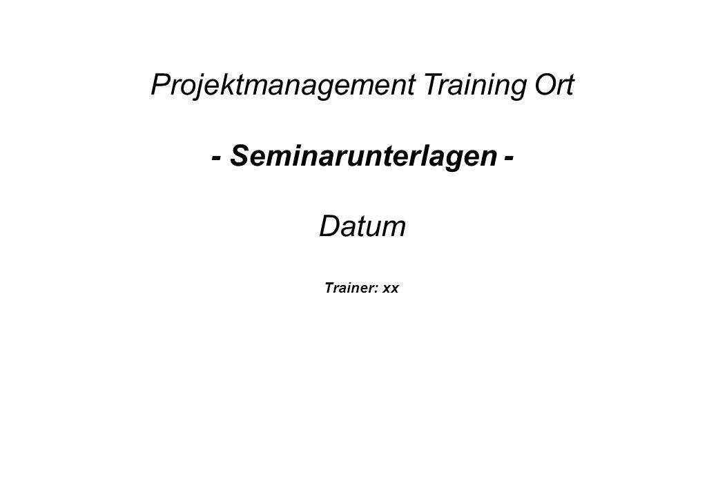 Training Projektmanagement - 22 - Vorgänger?Nachfolger?Vorgänger?Nachfolger.