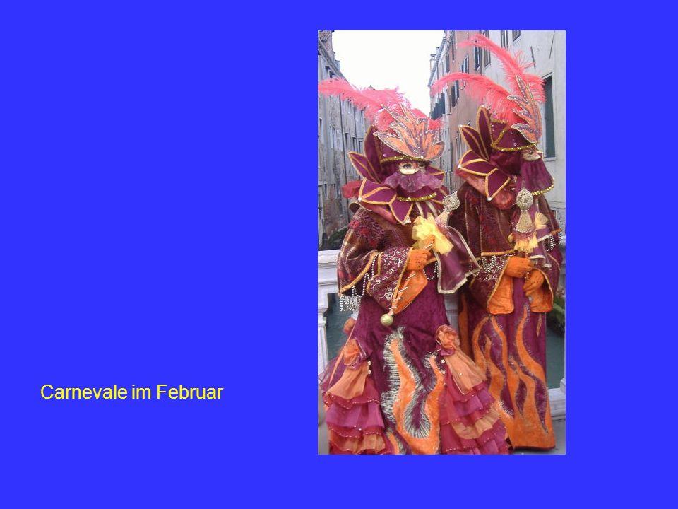 Carnevale im Februar