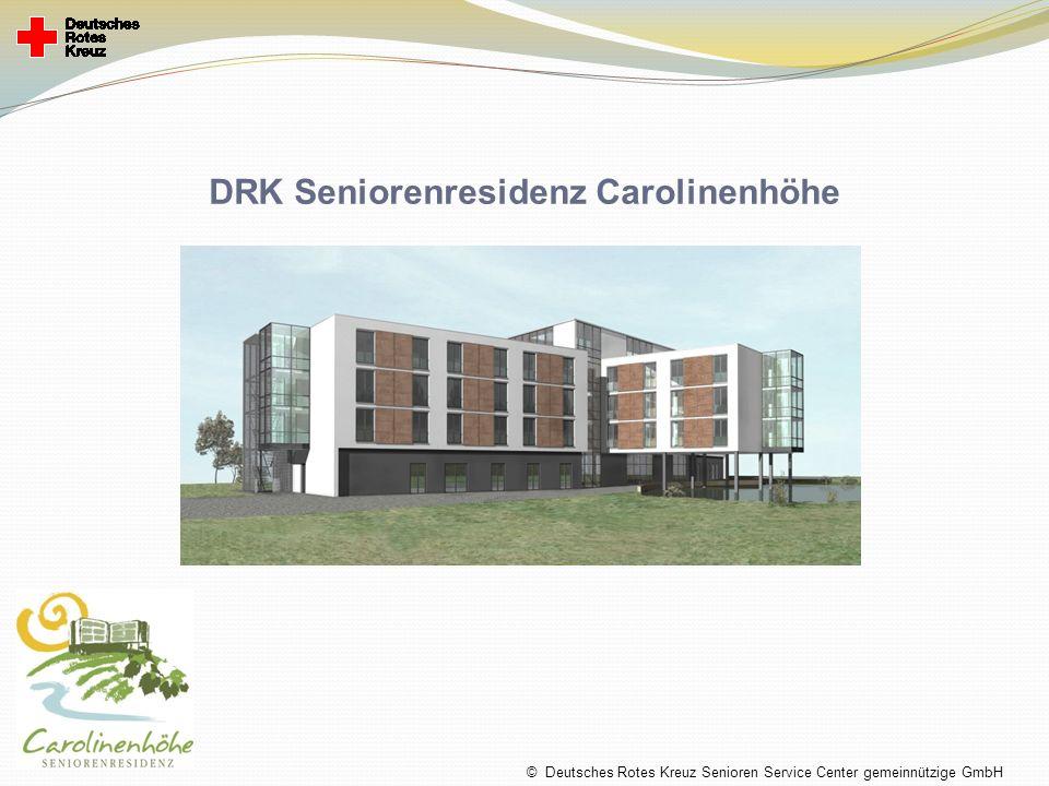 DRK Seniorenresidenz Carolinenhöhe © Deutsches Rotes Kreuz Senioren Service Center gemeinnützige GmbH