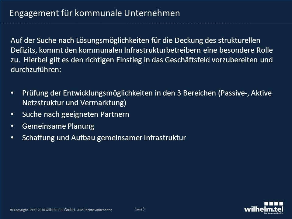 © Copyright 1999-2005 wilhelm.tel GmbH.Alle Rechte vorbehalten.