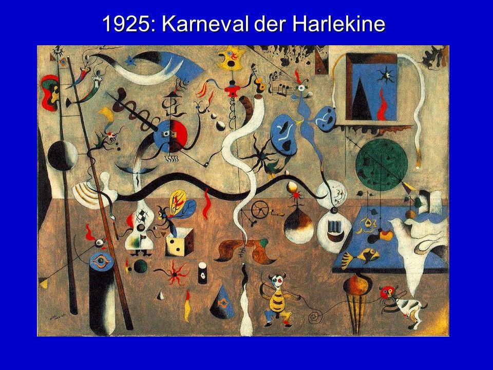 1925: Karneval der Harlekine
