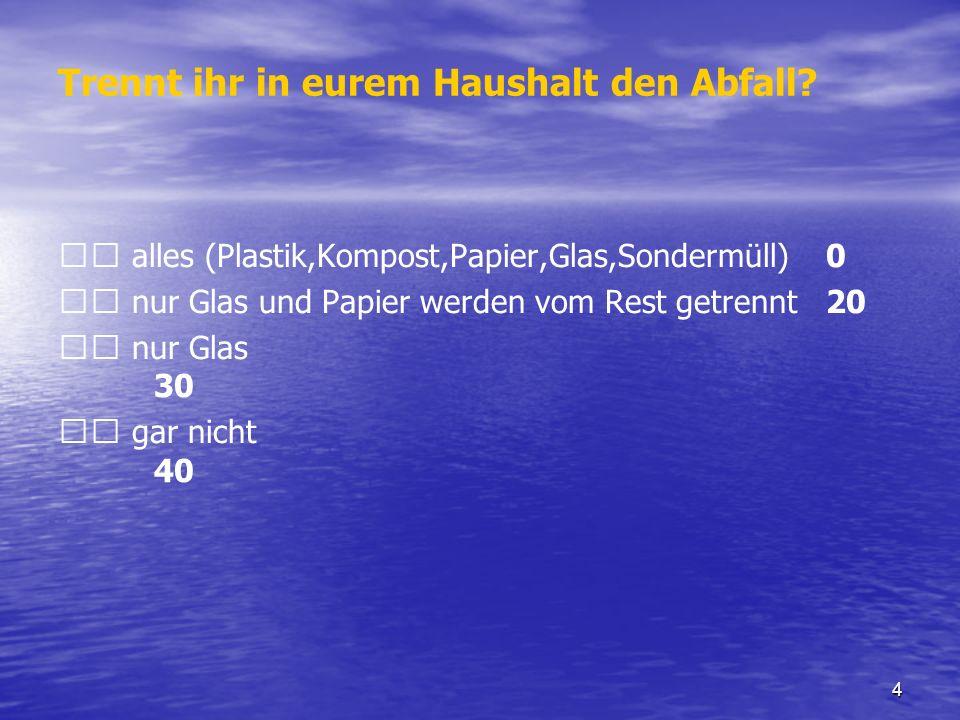 45 Es gibt viel zu tun Packen sie es an Es gibt viel zu tun Packen sie es an Willi Becker An der Kreuzheck 31 – 60529 Frankfurt / Main, Tel.: 069 - 359 351 Email: umweltberatung@iesy.net Kirchlicher Umweltberater und Umweltauditor Ihr