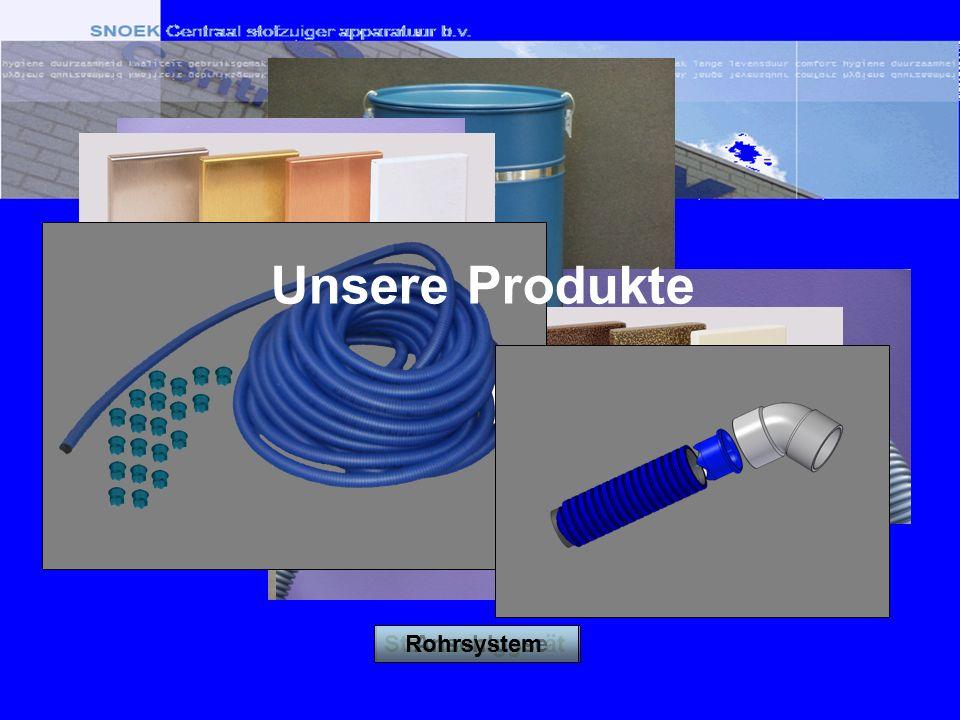StaubsauggerätAnschlusseRohrsystem Unsere Produkte