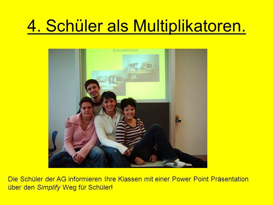 4.Schüler als Multiplikatoren.