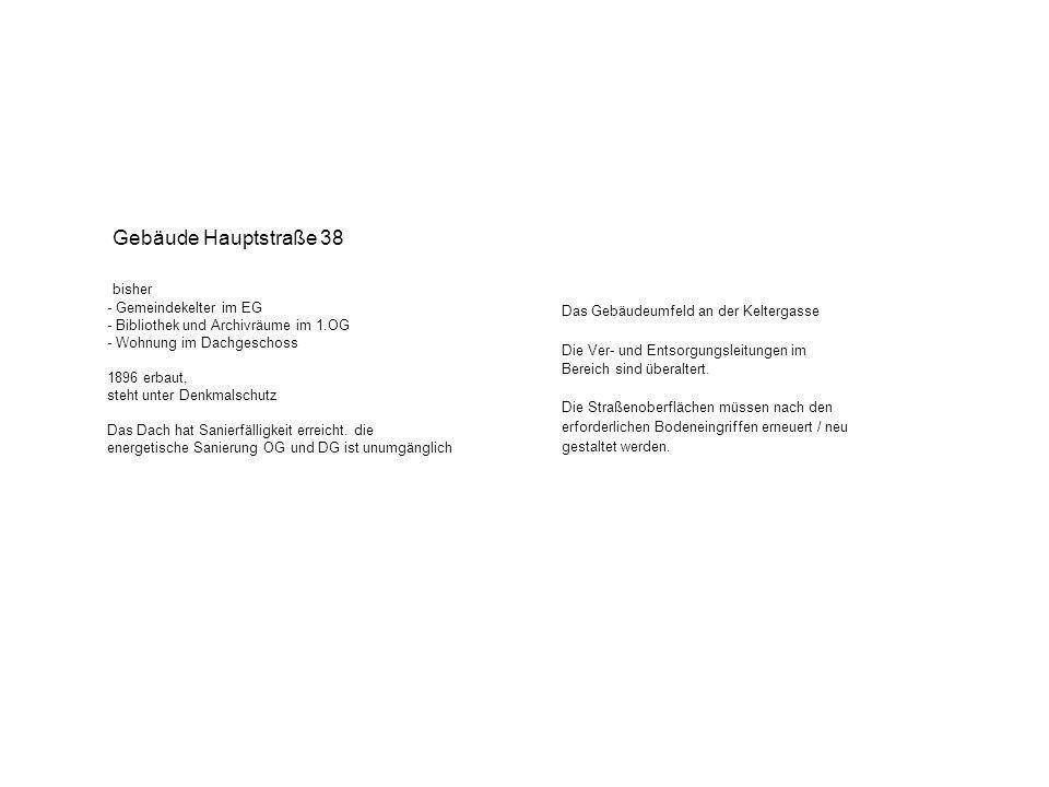 Umnutzungsvorschlag Stadtverwaltung in der alten Kelter EG 48qm 144qm