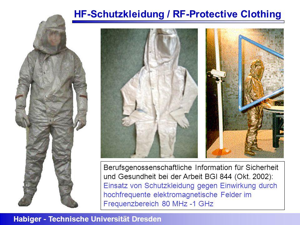 Berufsgenossenschaftliche Information für Sicherheit und Gesundheit bei der Arbeit BGI 844 (Okt. 2002): Einsatz von Schutzkleidung gegen Einwirkung du
