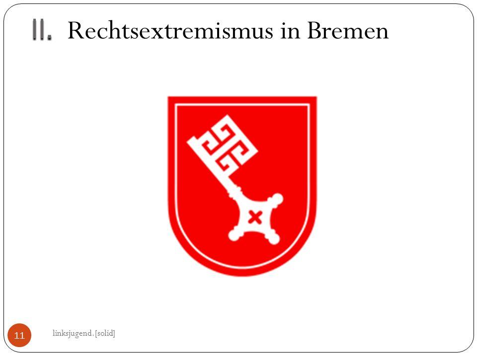 II.II. linksjugend.[solid] 11 Rechtsextremismus in Bremen