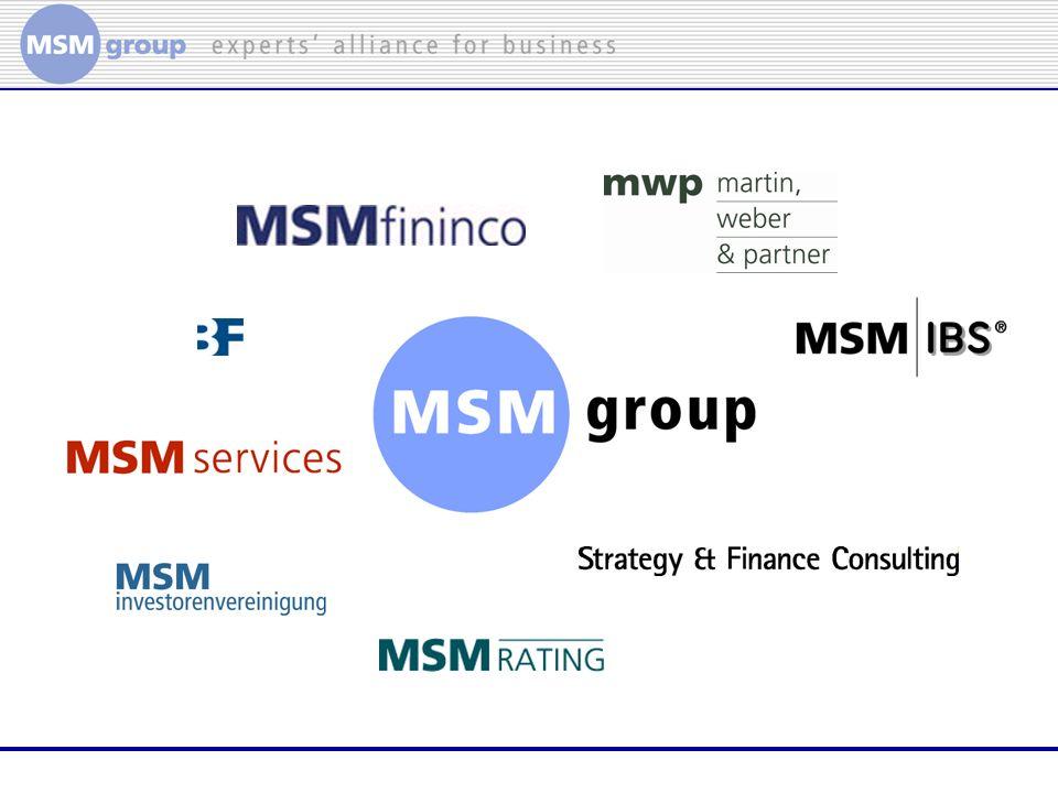 RA Dr.Thomas Stephan Martin, Weber & Partner MSM Group Ihre Interessen 1.