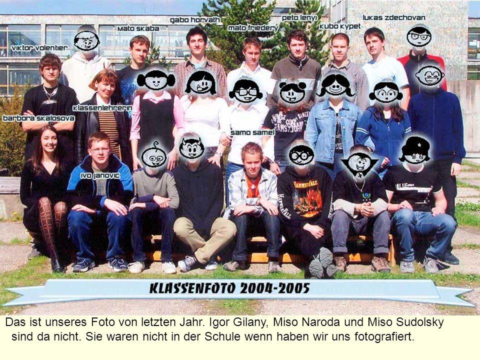Das ist unseres Foto von letzten Jahr.Igor Gilany, Miso Naroda und Miso Sudolsky sind da nicht.